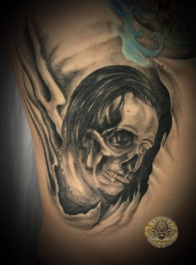 horror face tattoo ideas and horror face tattoo designs page 3. Black Bedroom Furniture Sets. Home Design Ideas