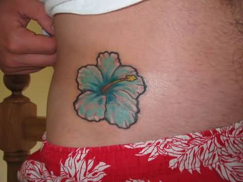 Simple Hibiscus Flower Tattoo: Tattoo Ideas And Tattoo Designs