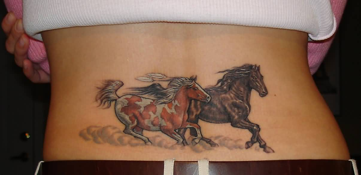 horse back tattoo ideas and horse back tattoo designs page 2. Black Bedroom Furniture Sets. Home Design Ideas