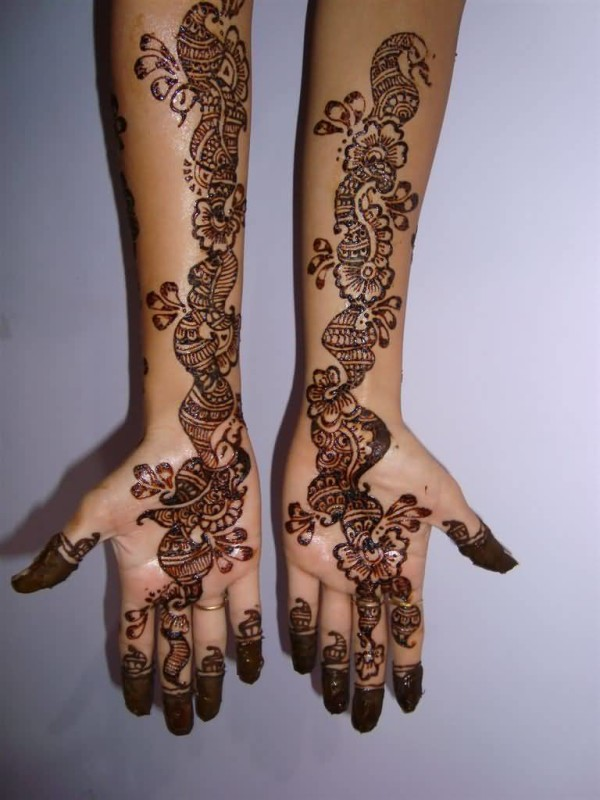 Mehndi Hands Cover Photos : Henna back tattoo cover up makedes