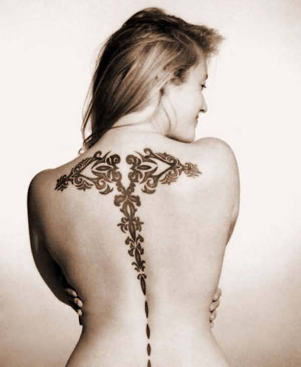 Henna Back Ideas
