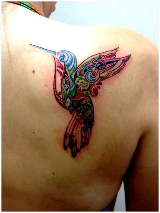 simple hummingbird tattoo ideas and simple hummingbird