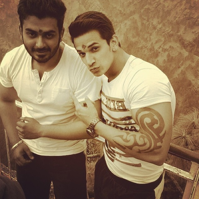 Cool Tribal Tattoo For Prince Narula