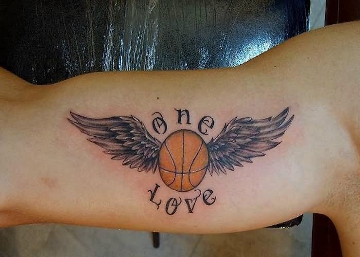 basketball tattoo ideas and basketball tattoo designs page 4. Black Bedroom Furniture Sets. Home Design Ideas