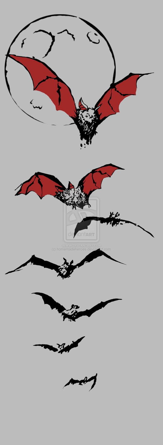 Bat Tattoo Ideas And Designs Page 20