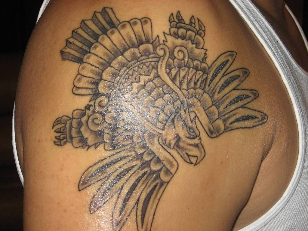 Aztec Temple Tattoo 7c68c68a0c really comfortable hot products wonderful aztec
